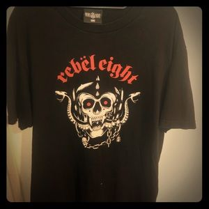 Rebel Eight Graphic Tee